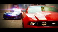 llegal street racers take on the law in the world's most intense RC police chase! Sort of.