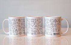SHIFT mugs