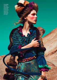 Sydney Roper By Alvin Nguyen For L'officiel Indonesia September 2014