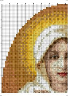 Religious Cross Stitch Patterns, Counted Cross Stitch Patterns, Cross Stitch Embroidery, Hand Embroidery, Mother Mary, Religious Art, Couture, Needlepoint, Marvel