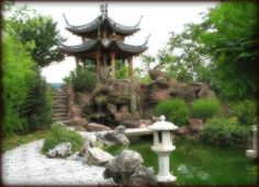 Chinese Garden - Stuttgart, Germany by Batikart, via Flickr