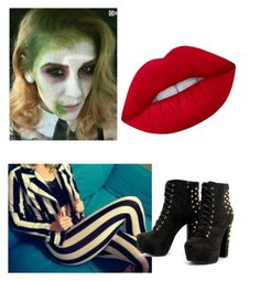 """""""Untitled #51"""" by stacymitchell-sm on Polyvore featuring Lime Crime"""