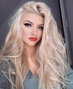 Makeup suitable for blonde girls - Miladies.net