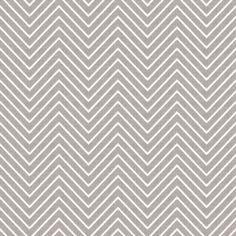 Chevron Chic - Mini - Silver Grey fabric by kristopherk on Spoonflower - custom fabric