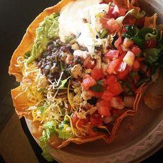 #salad #tacosalad #bajafresh Salads, Tacos, Mexican, Fresh, Ethnic Recipes, Food, Essen, Meals, Yemek