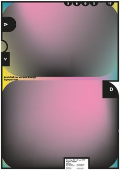 """architecture versus dsign"" by burkhardthauke / germany, 2017 / offset, 594 x 841 mm"