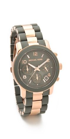 or this one lol. Michael Kors Runway Time Teller Watch