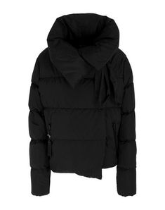 Quilted Techno fabric Logo Basic solid color Double-breasted Snap button fastening Bow collar Multipockets Long sleeves Duck down filling Contains non-textile parts of animal origin Duck Down, Double Breasted, Mantel, Bacon, Winter Jackets, Hoodies, Techno, Long Sleeve, Sleeves