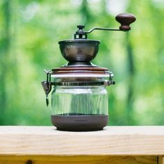 "Hario's The New Coffee Mill ""Canister"""