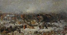 Nicolae Grigorescu (Romanian 1838–1907) Smârdan Attack, 1878.
