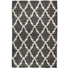 5' x 7' Quatrefoil Gray Printed Rug @ Hobby Lobby
