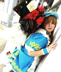 Hello my dear Alice... Blodd Drupe and Alice Cosplay! Heart No Kuni No Alice