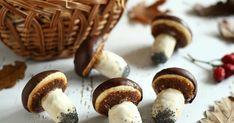»HOZZÁVALÓK«   Tészta : - 1 tojás   - 12 dkg cukor   - 10 dkg lágy vaj   - 8 dkg tejföl   - 40 dkg liszt   - 1 / 2 tasak sütőpor   ... Vaj, Cukor, Stuffed Mushrooms, Deserts, Cookies, Vegetables, Food, Stuff Mushrooms, Crack Crackers