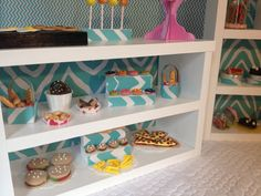 Harringtons Cakery Bakery LEFT UNIT ONLY with by QueenEmmaDesigns, $75.00  fits American Girl Doll food