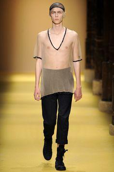 Ann Demeulemeester Spring 2012 Menswear