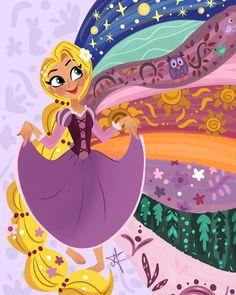 27 Trendy Ideas For Wallpaper Disney Love Pictures Disney Kunst, Arte Disney, Disney Magic, Disney Art, Disney Rapunzel, Tangled Rapunzel, Disney Animation, Disney Dream, Disney Love