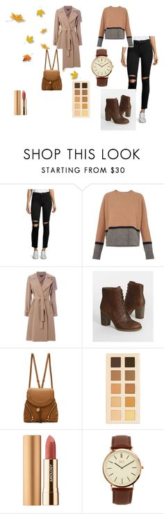 """Fall 2017"" by livia-dai on Polyvore featuring J Brand, Whistles, Theory, Timberland, See by Chloé, LORAC, Axiology, BKE, autumn and fall2017"