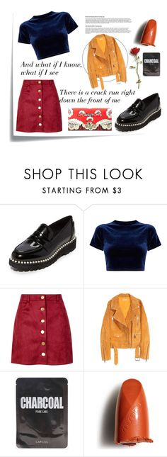 """""""My colourful set of the year"""" by spencer-hastings-5 ❤ liked on Polyvore featuring Post-It, Suecomma Bonnie, Boohoo, SKINN, Shiseido and Valentino"""