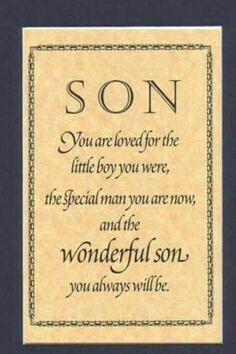 Birthday Wishes For Son Quotes Happy 21st