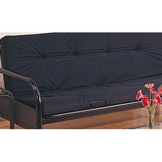 Futon Frame in Satin Black