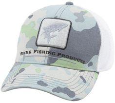 Fly Fishing Flies - Simms Tarpon Trucker Cap - Flow Camo