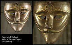 Face-Mask Helmet Safavid Turkish Empire Period, Turkish Culture and Art