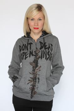 Her Universe's Geek Girl The Walking Dead Clothing Line: Don't Open. Dead Inside.