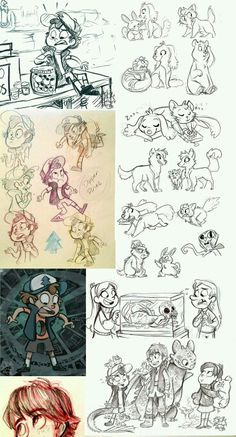 Reverse falls , Dipper, Mabel , mermando, toothless , hiccup