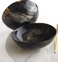Diane von Furstenberg Home Buffalo Horn Bowl - traditional - serving utensils - by Horchow