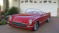 1954 Chevrolet Corvette. Maintenance/restoration of old/vintage vehicles: the material for new cogs/casters/gears/pads could be cast polyamide which I (Cast polyamide) can produce. My contact: tatjana.alic@windowslive.com