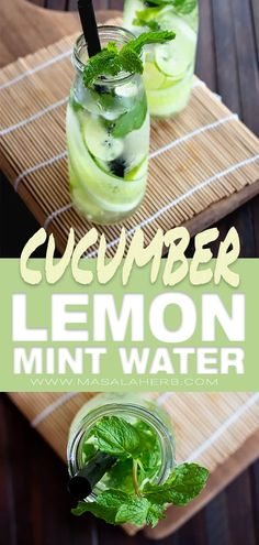 Lemon Cucumber Mint Water a delicious subtly flavored detox water with healthy fresh ingredients lemon is rich in vitamin c cucumber keeps you hydrated mint is for your. Lemon Cucumber Mint Water, Cucumber Detox Water, Detox Drinks, Healthy Drinks, Healthy Water, Detox Juices, Healthy Detox, Healthy Snacks, Digestive Detox