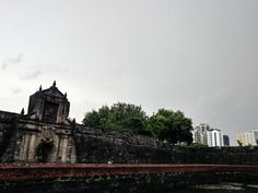 Ianna lopez: Fort Santiago is part of the structures of the walled city of Manila Intramuros. Fort Santiago, Intramuros, Walled City, Manila, Cathedral, Building, Travel, Viajes, Buildings