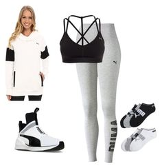 """""""Puma Sports Wear"""" by vireheart ❤ liked on Polyvore featuring Puma"""