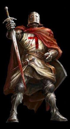 Medieval Times, Medieval Art, Medieval Fantasy, Knights Hospitaller, Knights Templar, Crusader Knight, Ritter, Fantasy Armor, Paladin