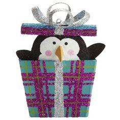 Pier 1 Imports Penguin Gift Ornament