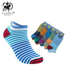 Underwear & Sleepwears Original 5 Pairs Men Socks Stars Striped Black White Double Color Cotton Socks Fashion Match Many Style Neatly Breathable Male Sock Meias