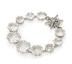 Pulseira de ouro nobre 18K com cristais de rocha e diamantes cognac - Coleção Moonlight Link:http://www.hstern.com.br/joias/p-produto/P1Q174627/pulseira/moonlight/pulseira-de-ouro-nobre-18k-com-cristais-de-rocha-e-diamantes-cognac---colecao-moonlight