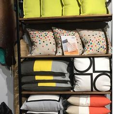 "Eaide says "" how fabulous and fresh do our cushions look in Store @coppola_home . Yep....spring is definitely here and we are loving it. Coppola Home is located at the Moore Park Supacentre, Sydney."" www.eadielifestyle.com.au #eadie_lifestyle #eadiecushions #linencushions #featherfilledcushions #coloursplash #beautifulhomewares #aussiecompany #aussiebrand"