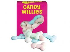 Candy Willies: naughty nibbles for hen parties/bachelorette parties Color Caramelo, Party Sweets, Hen Party Accessories, Hens Night, Novelty Gifts, Confectionery, Secret Santa, Girls Night, Sexy