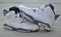 Jordan 6 customs by El Cappy
