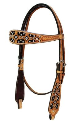 Winner's Circle Horse Supplies, Saddlebred and Gaited Horse Specialists - Bar H Equine Crystal Filigree Headstall