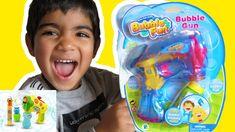 Bubble Fun Bubble Gun unboxing - Bubble blowing time Bubble Fun, Blowing Bubbles, Water Toys, Play Doh, Kids Videos, Kids Toys, Guns, Make It Yourself, Children