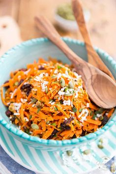 Ready in just a few minutes, this is undoubtebly the Best Carrot Salad EVER! Try it once and I can guarantee that it will become your go-to carrot salad recipe! Just be sure not to leave the secret ingredient out...