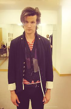Matt smith looks disgusted with this possible costume - as he should be :) bow ties are cool!
