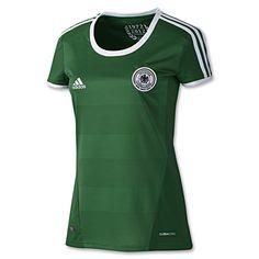 Germany 12/13 Away Women's Soccer Jersey