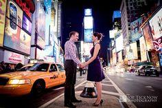 Midtown Manhattan, NYC Engagement Photos   Janet