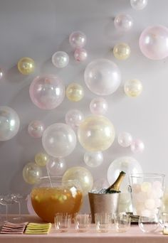 Fizzy lifting drink - Willy Wonka Party