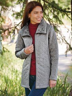 Scandia Fleece Jacket | Blair | 4 The Lady's Haven | Pinterest