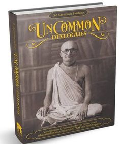 NEW BOOK: Sri Sarasvati Sanlapa: Uncommon Dialogues Dear Devotees, It is our great pleasure from Touchstone Media to present to you our newest publication, Sri Sarasvati Sanlapa: Uncommon Dialog Th…