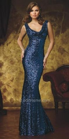 82ccb59d054 Cassidy Sequined Evening Dress by Celebrity by David Tutera  edressme Evening  Dresses